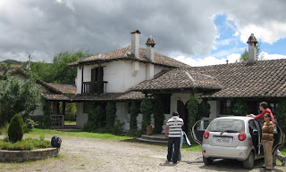 the first cotopaxi hacienda we found. Nice, but nothing exciting to do