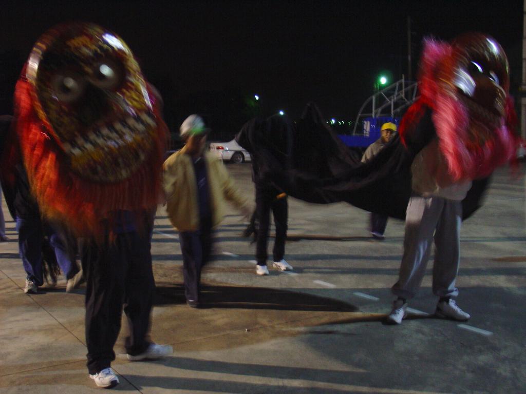 烏竹林廣慈宮金獅陣: 十二月 2010