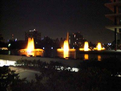 DWP at Night - Downtown L.A.