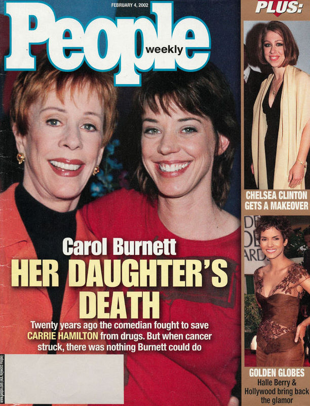 Rip Los Angles Celebrity Grave Actress Playwright Carrie Hamilton 2002 Carol burnett knows all too well what it's like to see a loved one struggle with substance abuse. rip los angles blogger