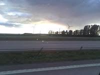 Landskrona, från E4