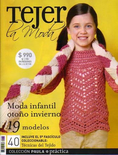Tejer la Moda Nro. 40 – Moda infantil