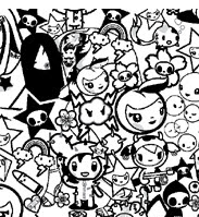 toki doki coloring pages | wear in vancouver.: tokidoki for lesportsac: welcome to ...