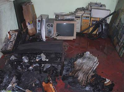 Attack on the LankaEnews ( Photos) - Sri Lanka Guardian