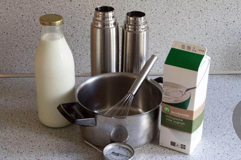 De kleine dingen experiment zelf yoghurt maken for Kleine vijverfilter zelf maken
