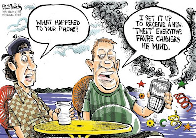 Favre  cartoon