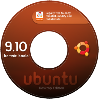 CD Labels Ubuntu 9.10