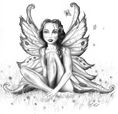 Posted in Ancient Tattoo Designs, Angel Tattoo Design, Black N White Tattoo