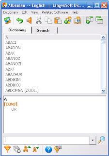 - Fjalori