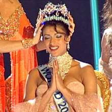 Classic Beauty Priyanka Chopra Miss World