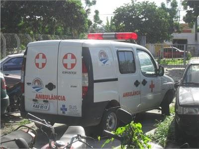 Resultado de imagem para ambulancia do município de caem apreendida em jacobina
