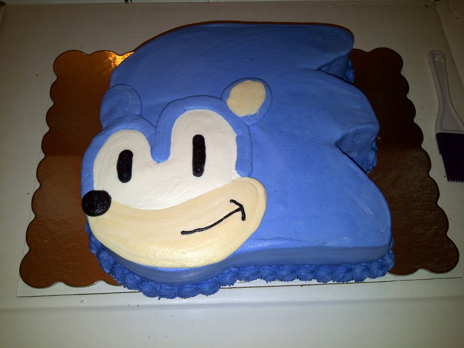 Cakes By Nichole Sonic The Hedgehog Cake