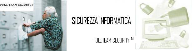 Sicurezza FULL TEAM SECURITY™