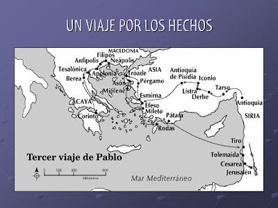 Pin segundo viaje misionero hechos ajilbabcom portal on for Cuarto viaje de san pablo
