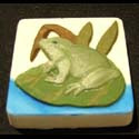 Frog on Lily Pad Mold