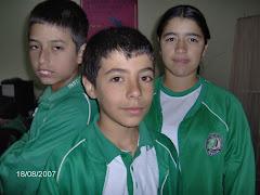 Daniel,Andres y Diana.