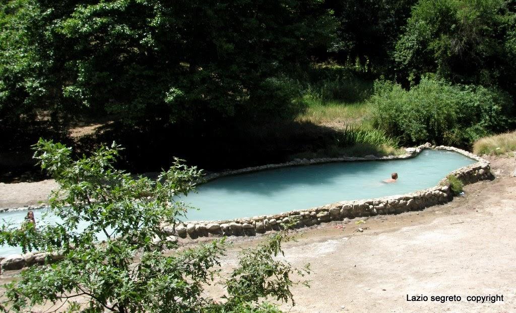 Lazio segreto sorgenti termali cascate e piscine - Cascate per piscine ...