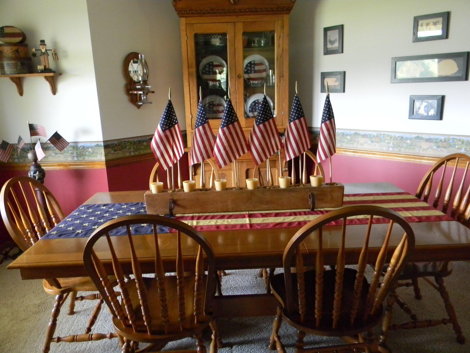 Americana Living Room Decorating Ideas