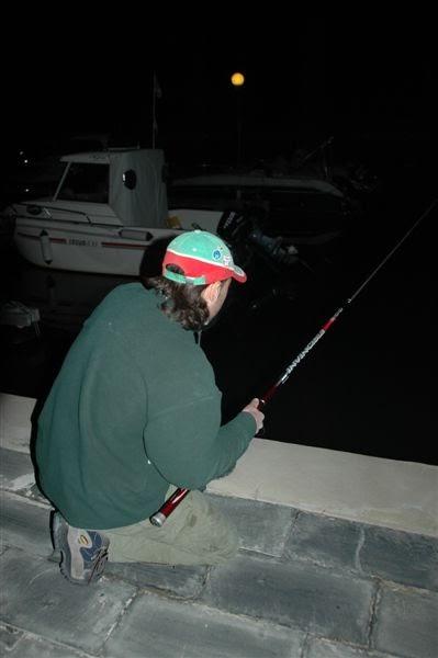 Pianeta pesca pesca alla spigola di notte con l anguilla for Un mezzo galleggiante