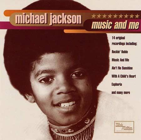 """Capa do disco """"Music and Me"""" (1973)"""