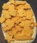 También podés hacer galletitas con los moldes!!