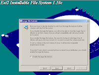 EXT2 Installable File System