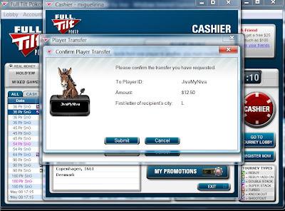 Full Tilt Payment