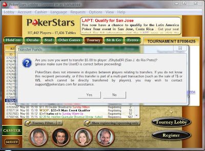 PokerStars Payment