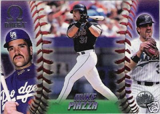 Cardboard Mania Card Of The Day 1998 Pacific Omega Mike Piazza