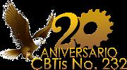 Logo CBTis 232 20 aniversario