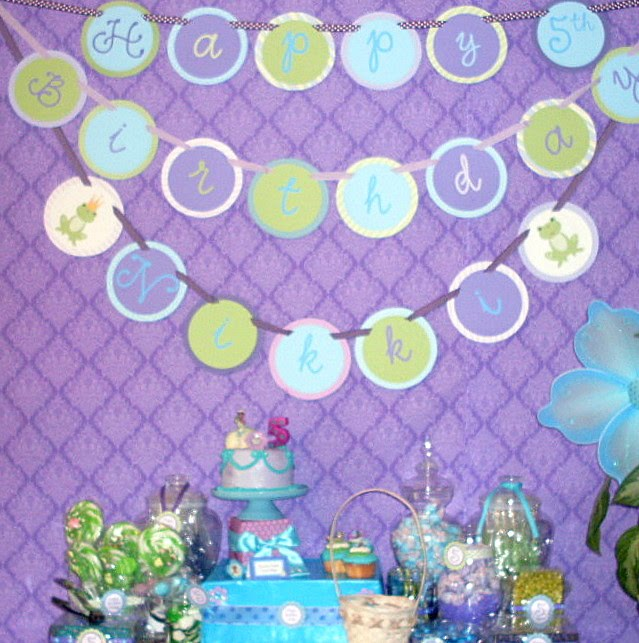 Cupcake Wishes Birthday Dreams More Princess And The Frog Party