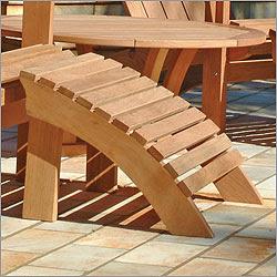 Adirondack Footrest Plans Pdf Woodworking