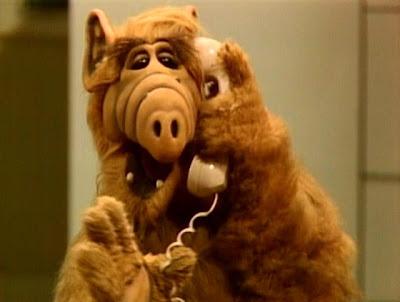 Nein, Alf war nicht der Typ, der nach Hause telefonieren wollte. Er telefoniert einfach nur so.