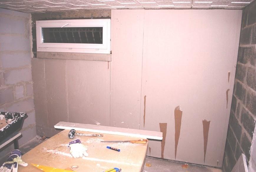 les r alisations de r mi le bricoleur 7 pose des plaques de platre. Black Bedroom Furniture Sets. Home Design Ideas