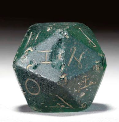Ancient 20-sided Die