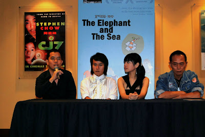 The press conference of THE ELEPHANT AND THE SEA