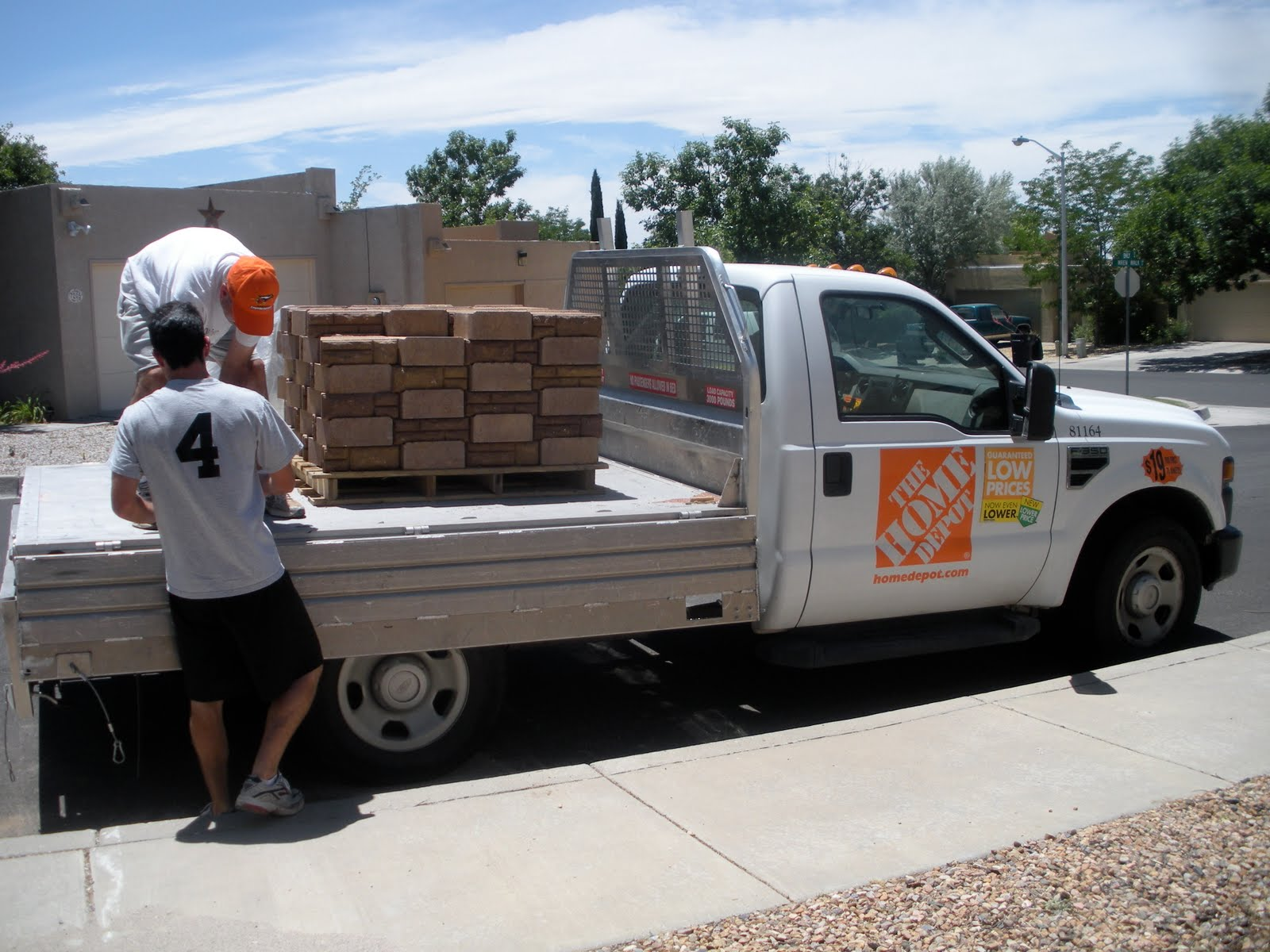 Truck rental home depot price