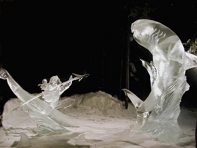 Woot Finger Tips Woot Creative Ice Sculptures