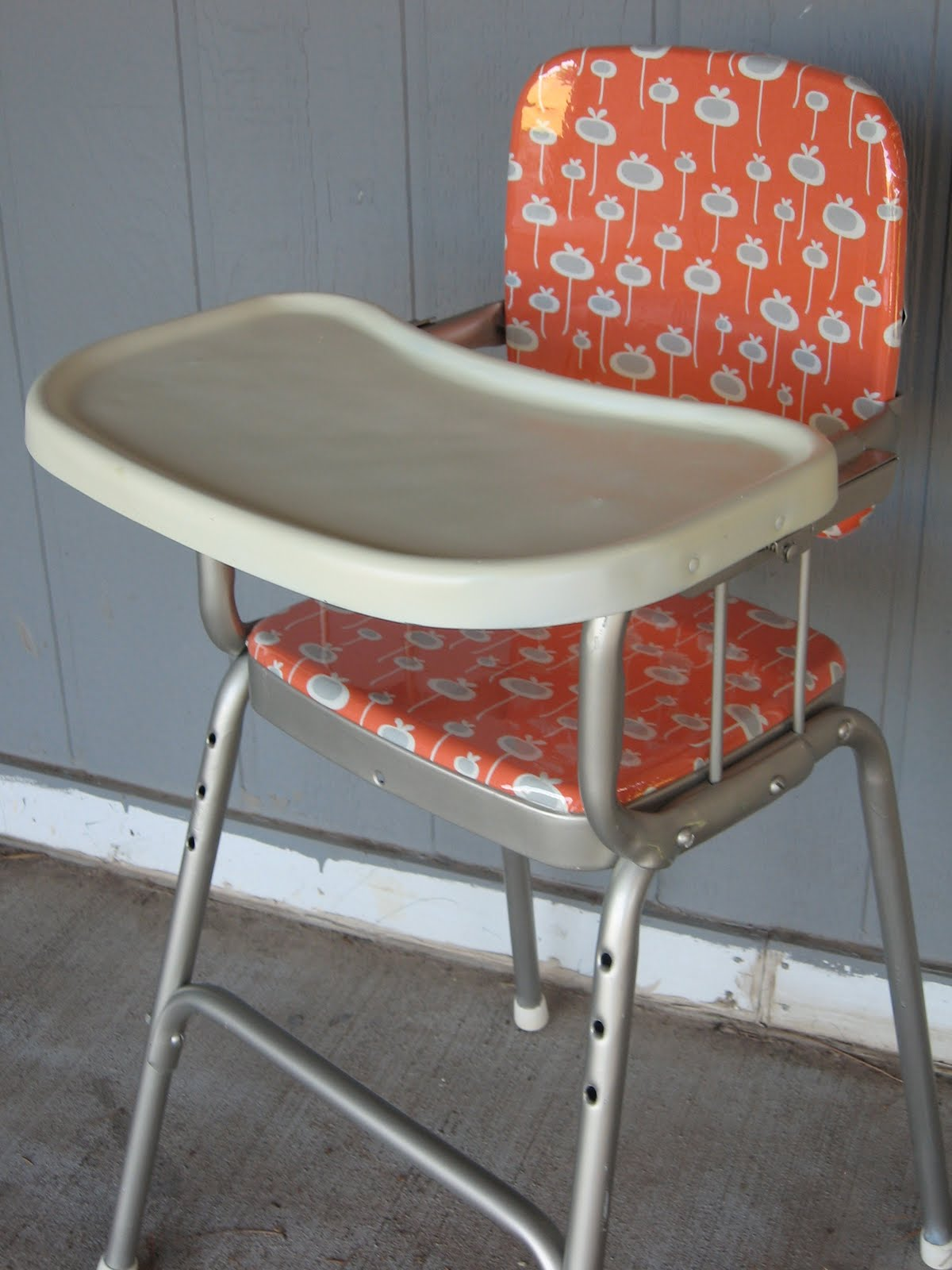 Antique High Chairs Chair Tray Frozen Knickers After Vintage Cosco