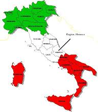 Ubicación Región Abruzzo