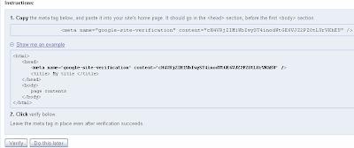Submit Sitemap Blog ke Google Webmaster Tools