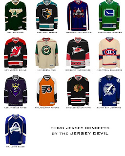 sports shoes 6734e f9c61 new nhl jersey designs