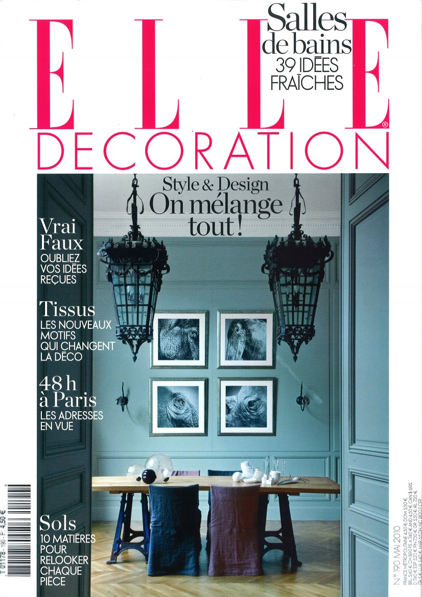 Jean dange elle decoration may 2010 mai 2010 for Elle decoration france