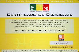 Certificado de Qualidade 2006/07