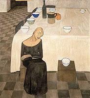 Felice Casorati - L'attesa (1921)