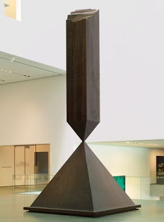 Barnett Newman (1905-1970) - Broken Obelisk. 1963-69