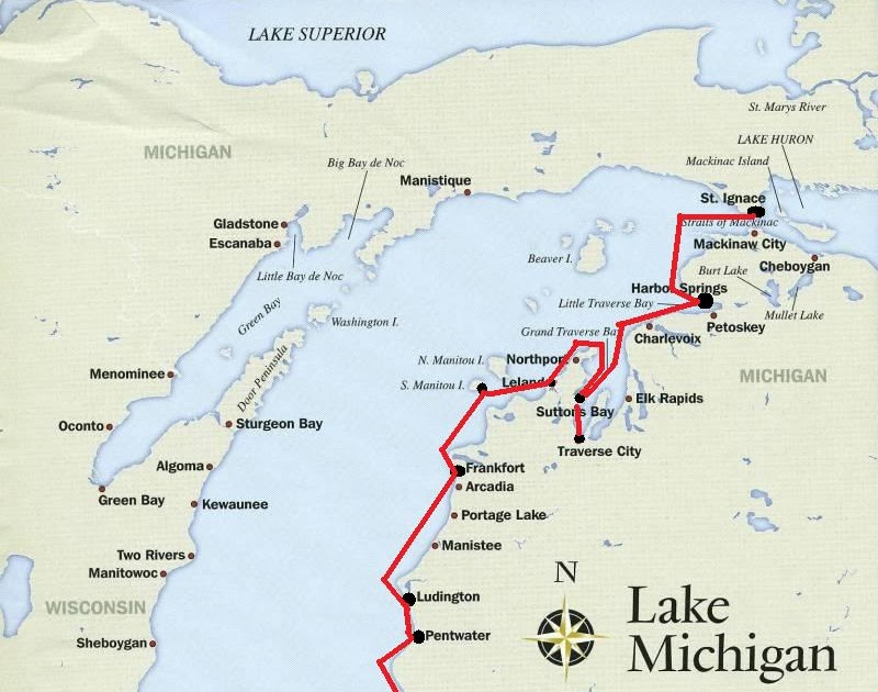 Great Lakes Cruising Three Quick Trips Suttons Bay