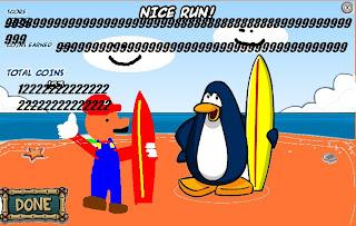 Funny Club Penguin Edicion Especial Mario Bros