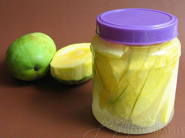 Burong Mangga (Pickled Green Mango)