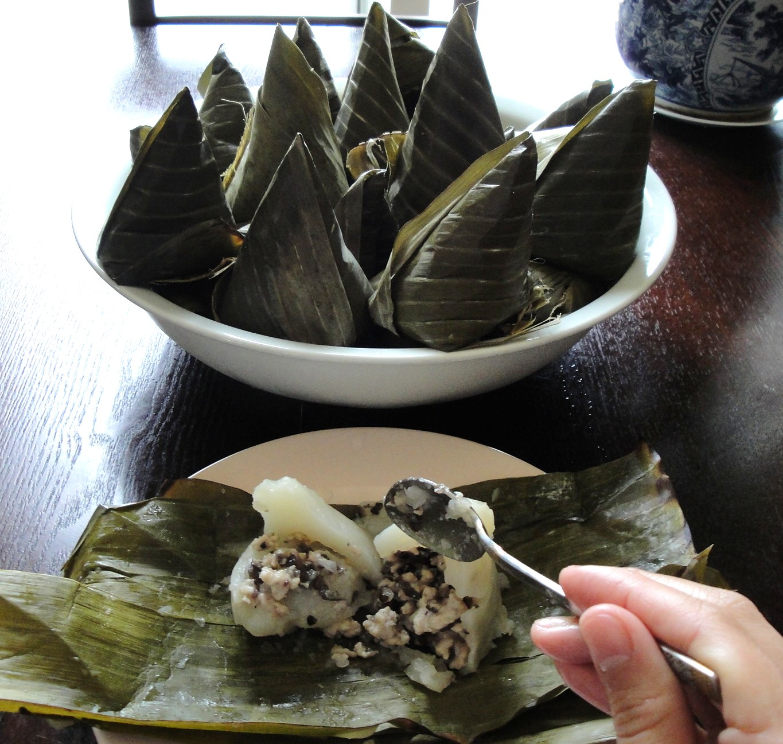 The Spices Of Life Banh Gio Vietnamese Pork Pyramid Dumpling